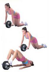 Гимнастическое колесо: комплекс упражнений для пресса
