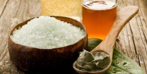 мед и морская соль