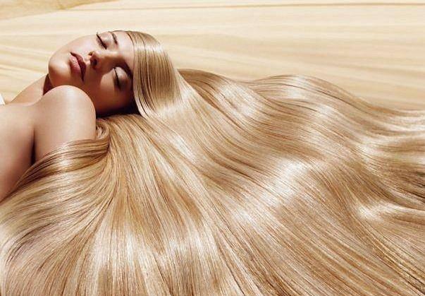 девушка волосы