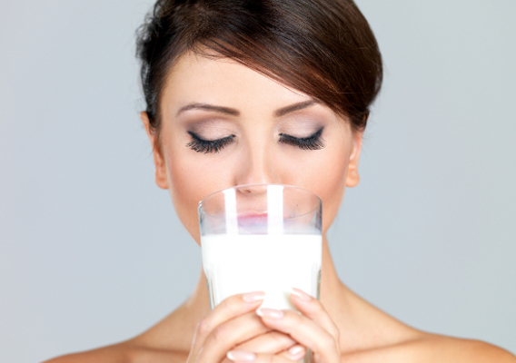 Кислое молоко для волос