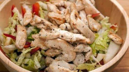 Салат из филе