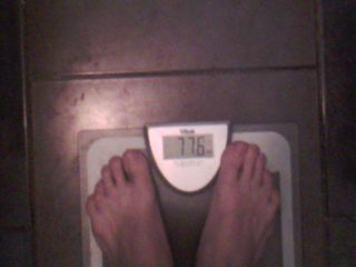 вес после 4 недель