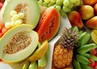 фрукты для маски