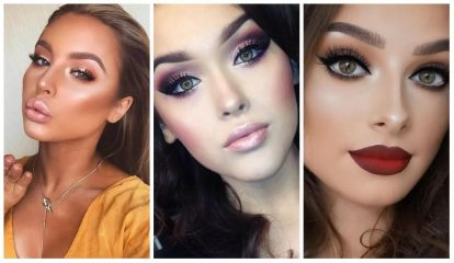 Модный макияж 2018 года