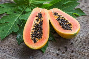 Способы изготовления мыла на основе папайи