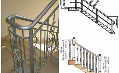 Ограждения лестниц хромированные - красивые, солидные, надежные